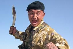 Gurkha, který odrazil útok více jak 30 talibanských bojovníků, úplně sám..