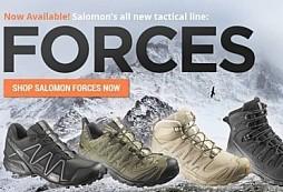 Špičková vojenská obuv od firmy Salomon konečně v ČR 435b7b7ed81