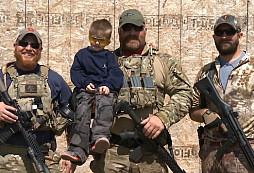 Šestiletý, postižený chlapec si na jeden den zkusil, jaké je to být členem jednotky NAVY SEAL