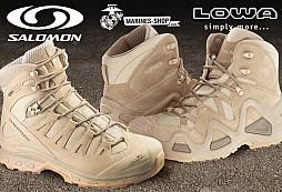 b49ac0cb0ad Vojenské boty LOWA vs. Salomon Forces  Jen na jednom místě zjistíte pravdu.