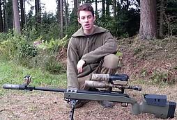 Odstřelovač v AirSoftové bitvě - hodně povedené zásahy i ,,nepřiznávači
