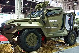 Nové obrněné vozidlo HUSAR na unikátním podvozku TATRA