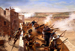 Bitva o Alamo - americký symbol heroického odporu