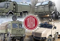 Vozy Tatra a Armáda České republiky patří neodmyslitelně k sobě - II. díl