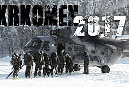 Přebor velitele Pozemních sil v zimním přírodním víceboji KRKOMEN 2017