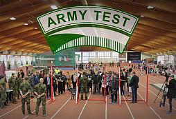 Zatím největší ARMY TEST proběhl v Praze