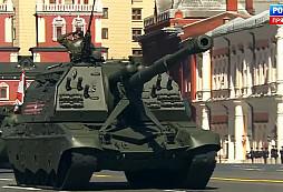Podívejte se na záznam vojenské přehlídky, která se konala v Moskvě při příležitosti oslav Dne vítězství