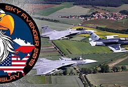 Sky Avenger 2018 aneb vzdušné souboje Gripenů a F-16 nad Českem