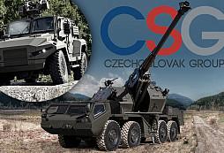 Holding CZECHOSLOVAK GROUP, EXCALIBUR ARMY a TATRA TRUCKS se představí na tradiční vojenské akci Bahna