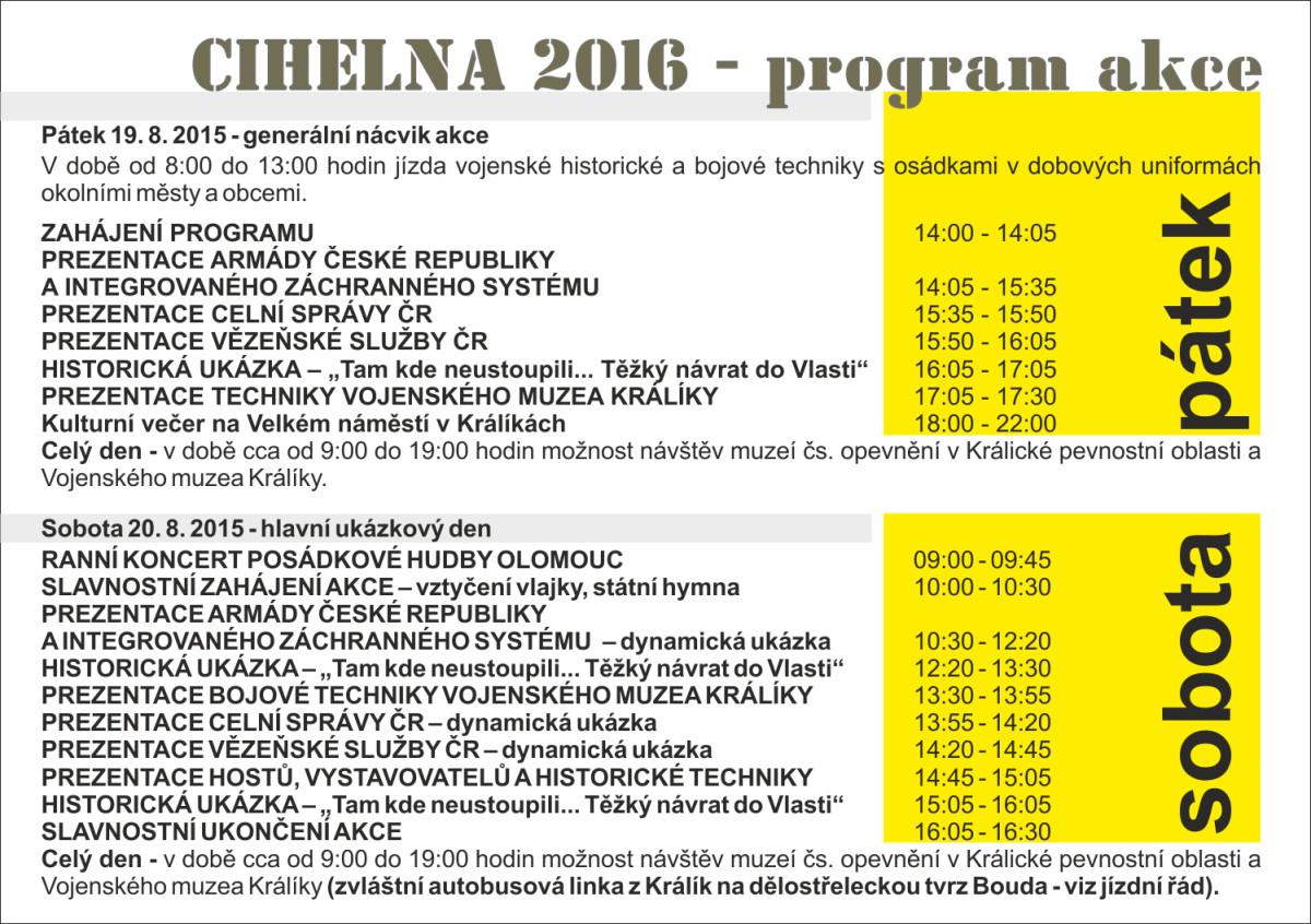 Akce Cihelna 2016 - kompletní program  be653f8df7