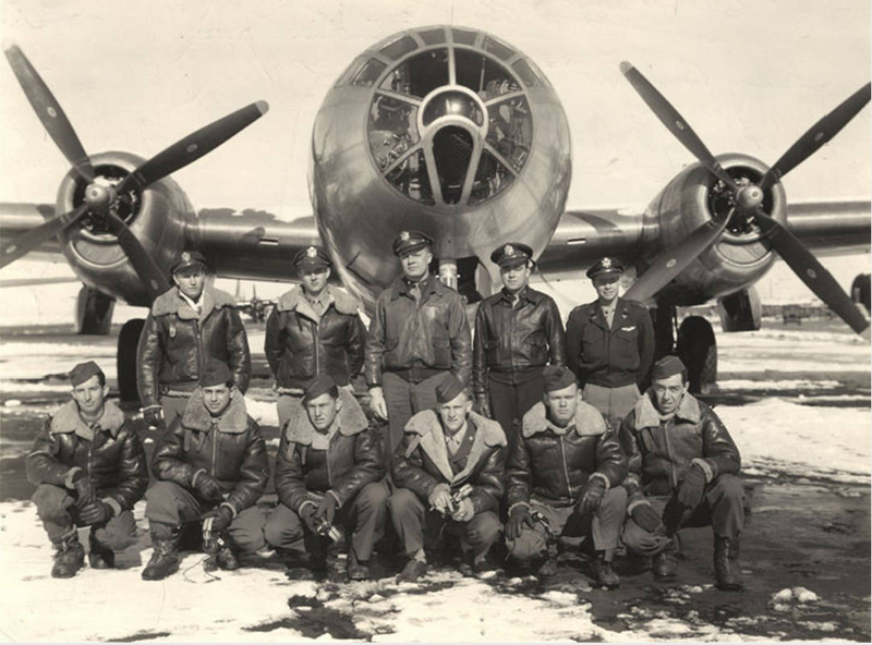 Crew of the B-29 Superfortress City of Los Angeles