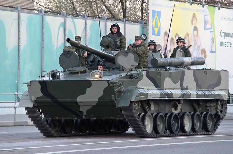 BMP-3_amphibious_infantry_fighting_vehicle