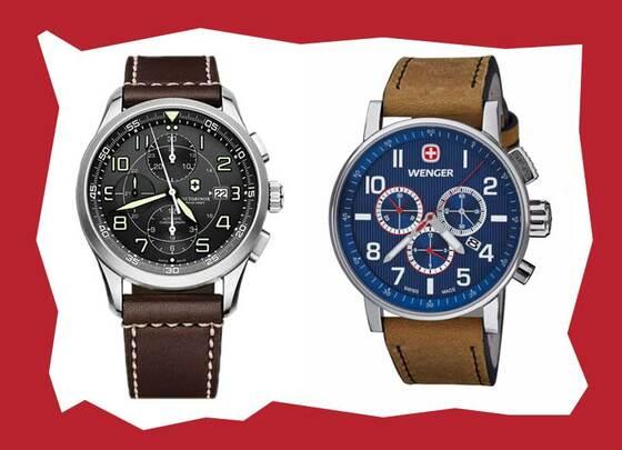 Foto  Wenger se v roce 1988 pustil do výroby hodinek a Victorinox ho v roce  2001 následoval 3e9cb1b9d74