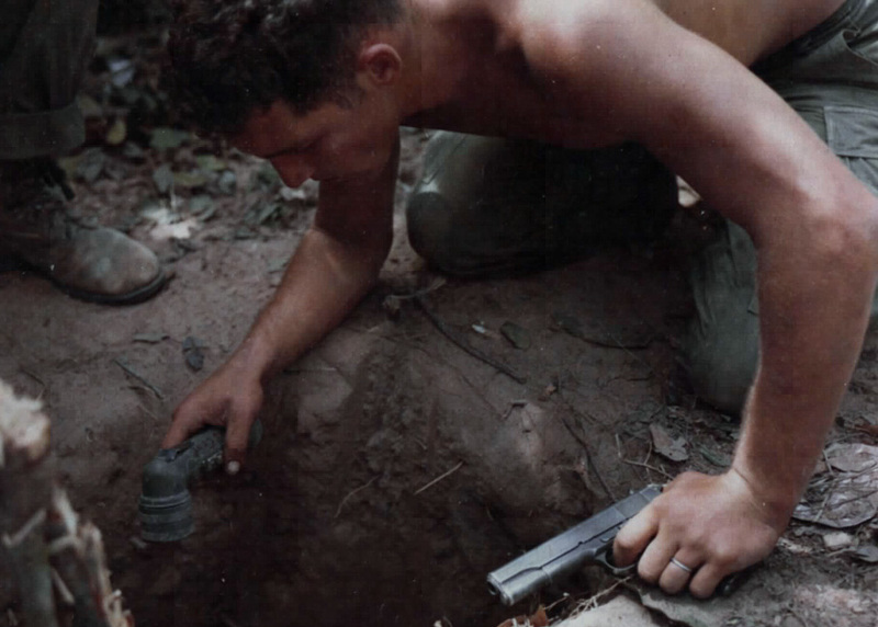 Sgt. Ronald H. Payne Tunnel Rat Vietnam War 1967.